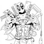 Deadpool Coloring Pages Pretty Deadpool Coloring Pages Gefroren Rich Young Ruler Coloring Page
