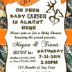 Deer Stencil Printable Excellent Baby Shower Invitations Templates Oh Deer Invitation by Free