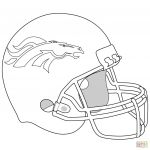 Denver Broncos Coloring Book Excellent Coloring Football Helmet Coloring Pages Excelent Free