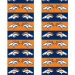Denver Broncos Printable Logo Marvelous Broncos toothpick Flags Football & Cheer Printables