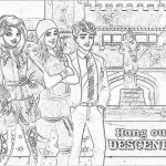 Descendants Coloring Pages Amazing Descendants 2 Coloring Pages