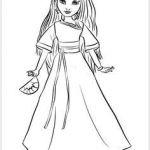 Descendants Coloring Pages Creative 18 Best Alyssa Images