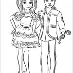 Descendants Coloring Pages Exclusive Ben and Mal Coloring Page