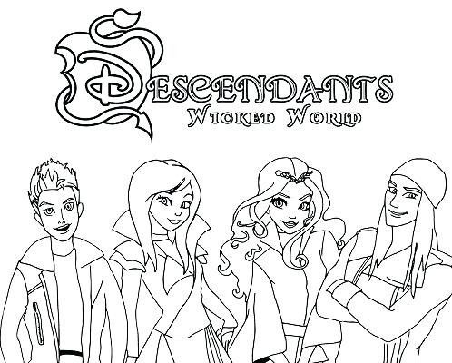 Descendants Coloring Pages Inspiration Free Printable Descendants 2 Coloring Pages Fresh Descendants 2