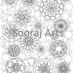 Design Coloring Pages for Adults Creative Pattern Design Coloring Pages