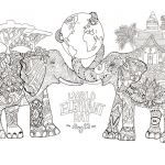 Detailed Coloring Pages for Adults Unique Elephant Adult Coloring Pages Amazing for Kids as Well 2