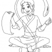 Detective Coloring Pages Pretty Avatar the Last Airbender Katara Was Practicing Water Control