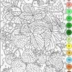 Difficult Color by Number Coloring Pages for Adults Inspiration 296 Best Connect the Dots Images In 2018