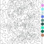 Difficult Color by Number for Adults Amazing Color by Number Sheet – Johnsimpkins