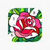 Difficult Color by Number Printables Beautiful Happy Color™ – Color by Number On the App Store