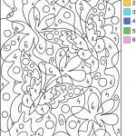 Difficult Color by Number Printables Elegant Coloring Pages Cool Designs Color by Number
