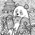 Difficult Coloring Book Brilliant Plicated Animal Coloring Pages