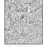 Difficult Coloring Book Creative Coloring Paint by Number Line for Adults Color No Printing Code
