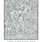 Difficult Coloring Book Creative Hard Color by Number Coloring Pages – Contentpark