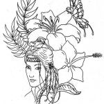 Difficult Coloring Pictures Awesome Native American Difficult Coloring Pages
