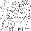 Dinosaur Coloring Book Printable Excellent Dinosaur Color Page – Donkeydiaries