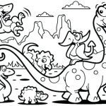 Dinosaur Coloring Pages to Print Awesome Printable Dinosaurs Coloring Pages – Wamifu