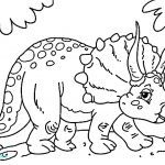 Dinosaur Coloring Pages to Print Beautiful New Dinosaur Pdf Coloring Page 2019