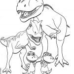 Dinosaur Coloring Pages to Print Creative Good Coloring Pages for Kids at Getdrawings
