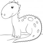 Dinosaur Coloring Pages to Print Elegant Coloring Page Dinosaur Coloring Pages Page Ankylosaurus 34