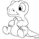 Dinosaur Coloring Pages to Print Exclusive Dinosuar Coloring Pages Realistic Dinosaur Coloring Page Dinosaur