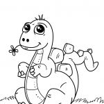 Dinosaur Coloring Pages to Print Inspirational Coloring Page Dinosaur Coloring Page Printable Pages for Kids 34