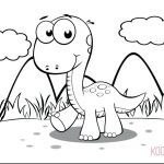 Dinosaur Coloring Pages to Print Inspired Dinosaur Color Page – Donkeydiaries