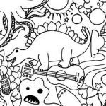Dinosaur Coloring Pages to Print Marvelous Free Dinosaur Coloring Pages T Rex Dinosaur Coloring Pages for