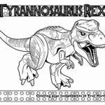 Dinosaur Coloring Sheets Brilliant Jurassic World Coloring Pages Lovely T Rex Coloring Page
