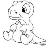 Dinosaur Coloring Sheets Creative Lovely Baby Dinosaur Coloring Pages – Waggapoultryub