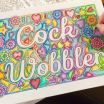 Dirty Word Coloring Book Amazing Swear Words Coloring Book