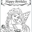 Disney Descendants Coloring Pages Inspiration Disney Free Birthday Coloring Pages for Kids Happy Cartoon Frozen