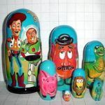 Disney Matryoshka Dolls Brilliant 50 Best Disney Nesting Dolls Images In 2015