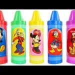 Disney Matryoshka Dolls Inspirational Videos Matching Disney Mickey Mouse Clubhouse Crayons