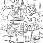 Disney Moana Coloring Book Inspired Moana Coloring Pages Home Look who S Coloring
