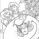 Disney Princess Coloring Pages Online Inspiration Aladdin Coloring Picture
