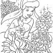 Disney Princess Halloween Coloring Pages Creative Printable Disney Princess Belle with Cat Coloring Page for Kids