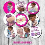 Doc Mcstuffins Cupcake Excellent the Good Dinosaur Birthday Party Cup Cake topper Decor Pre Cut 2