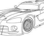 Dodge Viper Coloring Amazing 110 Best Coloring Pages Cars & Trucks Images In 2016