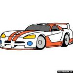 Dodge Viper Coloring Inspired 111 Best 倒骑ム外婆 Dodge Viper Images In 2016