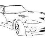 Dodge Viper Coloring Inspiring 8 Best Car Coloring Pages Images In 2014