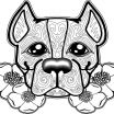 Dogs Coloring Pages for Adults Wonderful New Printable Coloring Pages Dogs