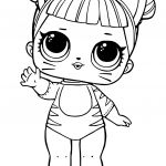 Dolls Coloring Pages Inspired Lol Doll Coloring Pages Coloring