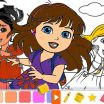 Dora and Friends Coloring Pages Creative Lovely Dora Friends Coloring Pages – Tintuc247