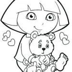 Dora the Explorer Free Wonderful Free Coloring Pages Friendship New Dora Coloring Pages Pdf the