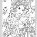 Downloadable Coloring Pages for Adults Unique Fancy Outfit Printable Adult Coloring Page From Favoreads
