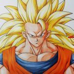 Dragon Ball Coloring Book Best Of How to Draw Goku Super Saiyan 3 Step by Step Tutorial