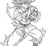 Dragon Ball Z Coloring Excellent Beautiful Goku Ssj God Coloring Pages – Howtobeaweso