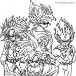 Dragon Ball Z Coloring Pages Inspiration Dragon Ball Z Balls Coloring Pages
