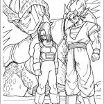 Dragon Ball Z Coloring Pages Inspired Dragon Ball Z Coloring Page • Mature Colors Goku